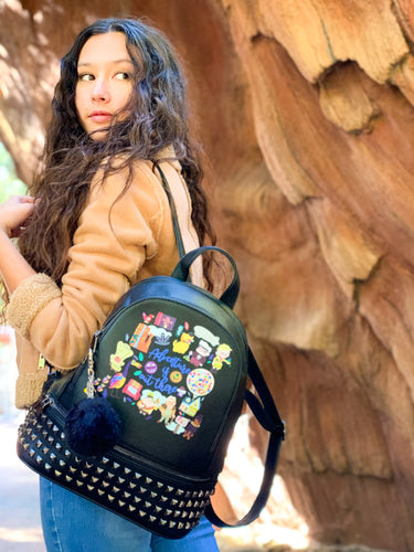 Adventure Studded Backpack