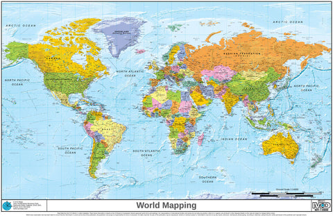 Xyz world maps xyz maps xyz world political map by xyz maps gumiabroncs Image collections