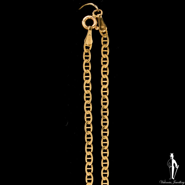 20 Inch 14K Yellow Gold Anchor Link Chain