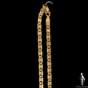 16 Inch 14K Yellow Gold Anchor Link Chain