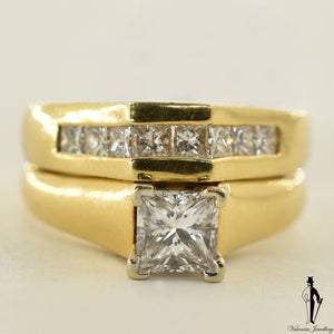 18K Yellow Gold SI1 Diamond (0.70 CT.) Solitaire Engagement Ring