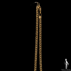 22 Inch 10K Yellow Gold Franco Link Chain