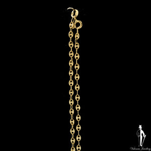 23 Inch 14K Yellow Gold Gucci Link Chain