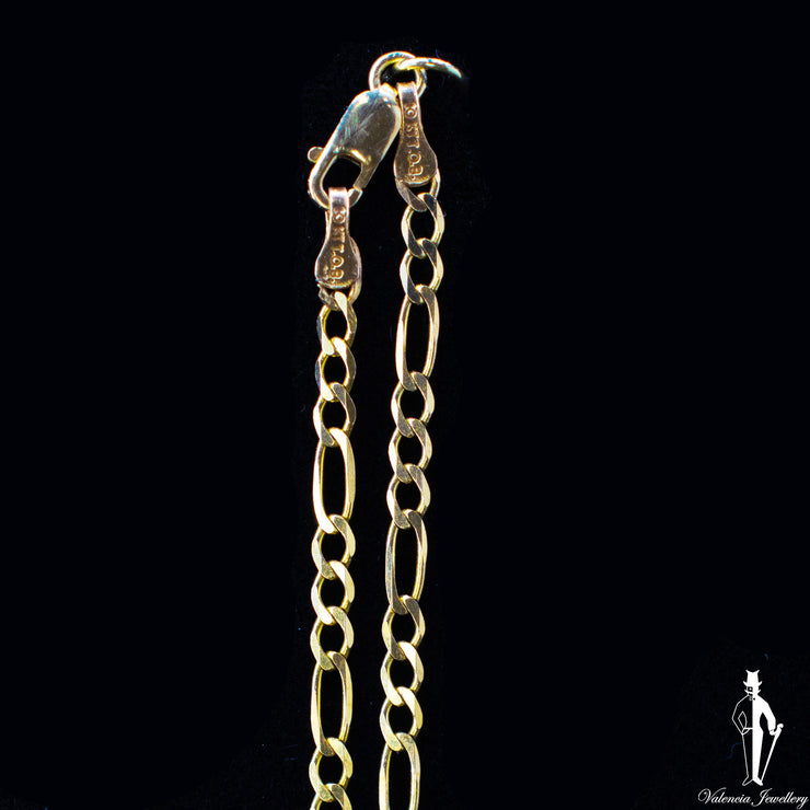 "20"" 10K Yellow Gold Figaro Link Chain"