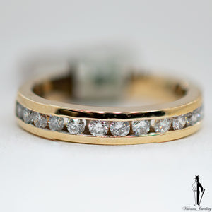 0.56 CT. (SI1-SI2) Diamond Band in 14K Yellow Gold