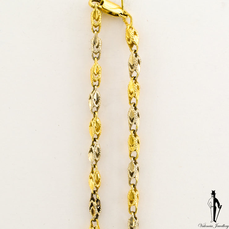 24 Inch Turkish Link Chain in 10k Yellow Gold