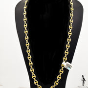 22 Inch18k Yellow Gold Gucci Link Chain