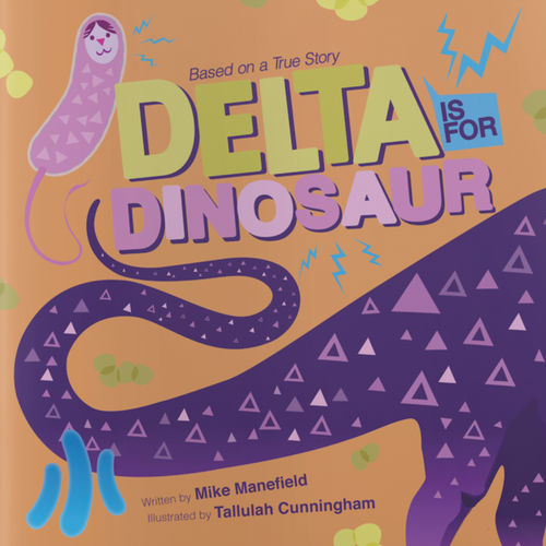 Delta is for dinosaur