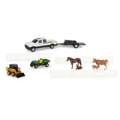 John Deere Play Set Utility Vehicles Set (1/32)