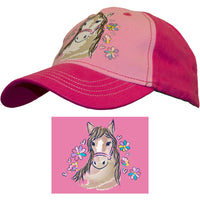 Girl Toddler Cap Horse