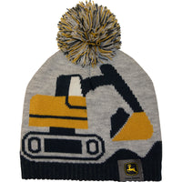 Boy Toddler Construction Beanie