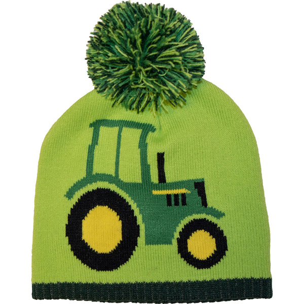 Boy Toddler Tractor Beanie