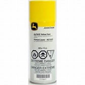 John Deere Industrial Yellow Paint - TY25627 - Yellow Paint for Construction and Industrial Equipment