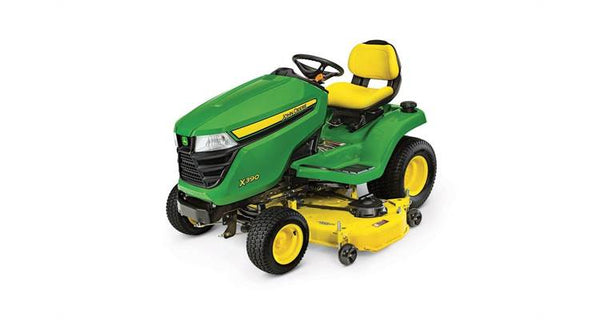 2019 John Deere X390, 54-in. deck