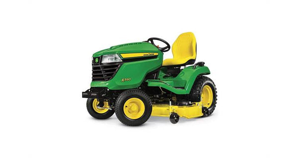 John Deere X590, 54-in. Deck