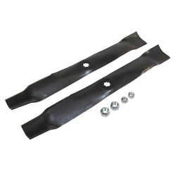"Lawn Mower Blades Kit ( Mulch ) for 100, D100, E100, LA100, LT, S200, SST, X300 and Z200 Series with 42"" Deck"