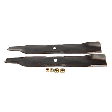 "Lawn Mower Blade Kit ( Bagging ) For 100,D100,E100,LA,LT,X300 and Z200 Series w/ 42"" Deck"