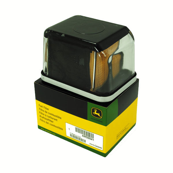 AR50041 - John Deere Snap-on Glass Fuel Filter