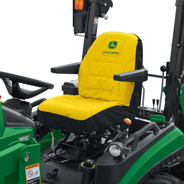 John Deere Seat Cover ~ Cut