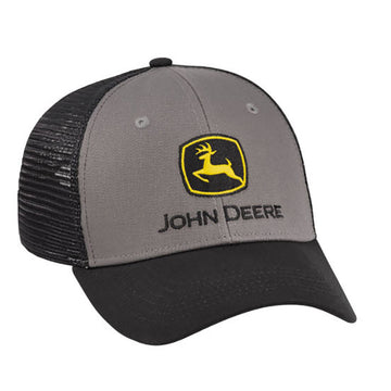 John Deere Construction Cloth/Mesh Hat