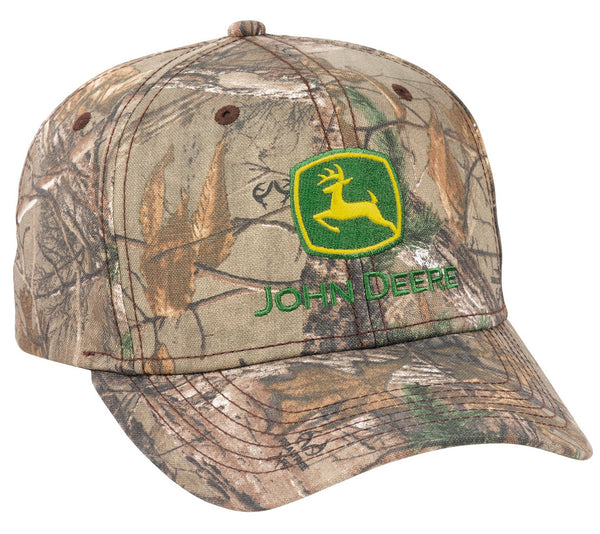John Deere Men's APX Basic Camo Hat