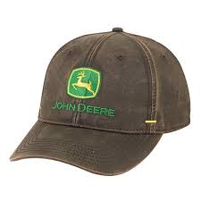 John Deere Men's Faux Waxy Cotton Hat