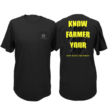 John Deere Mens Know Your Farmer Tee
