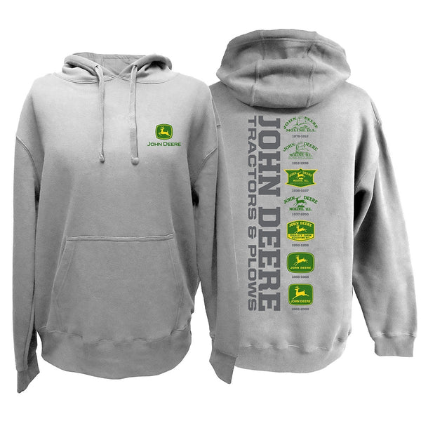 John Deere tractors and plows hoodie
