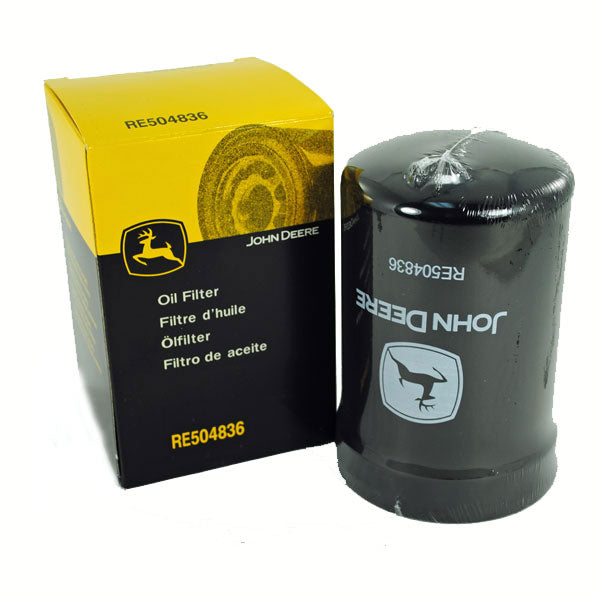 RE504836 - John Deere Oil Filter