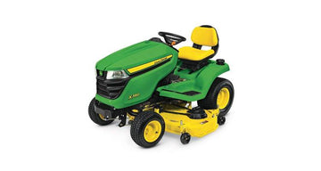 John Deere X380, 48-in. deck