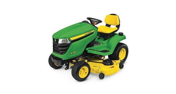 John Deere X380, 54-in. deck