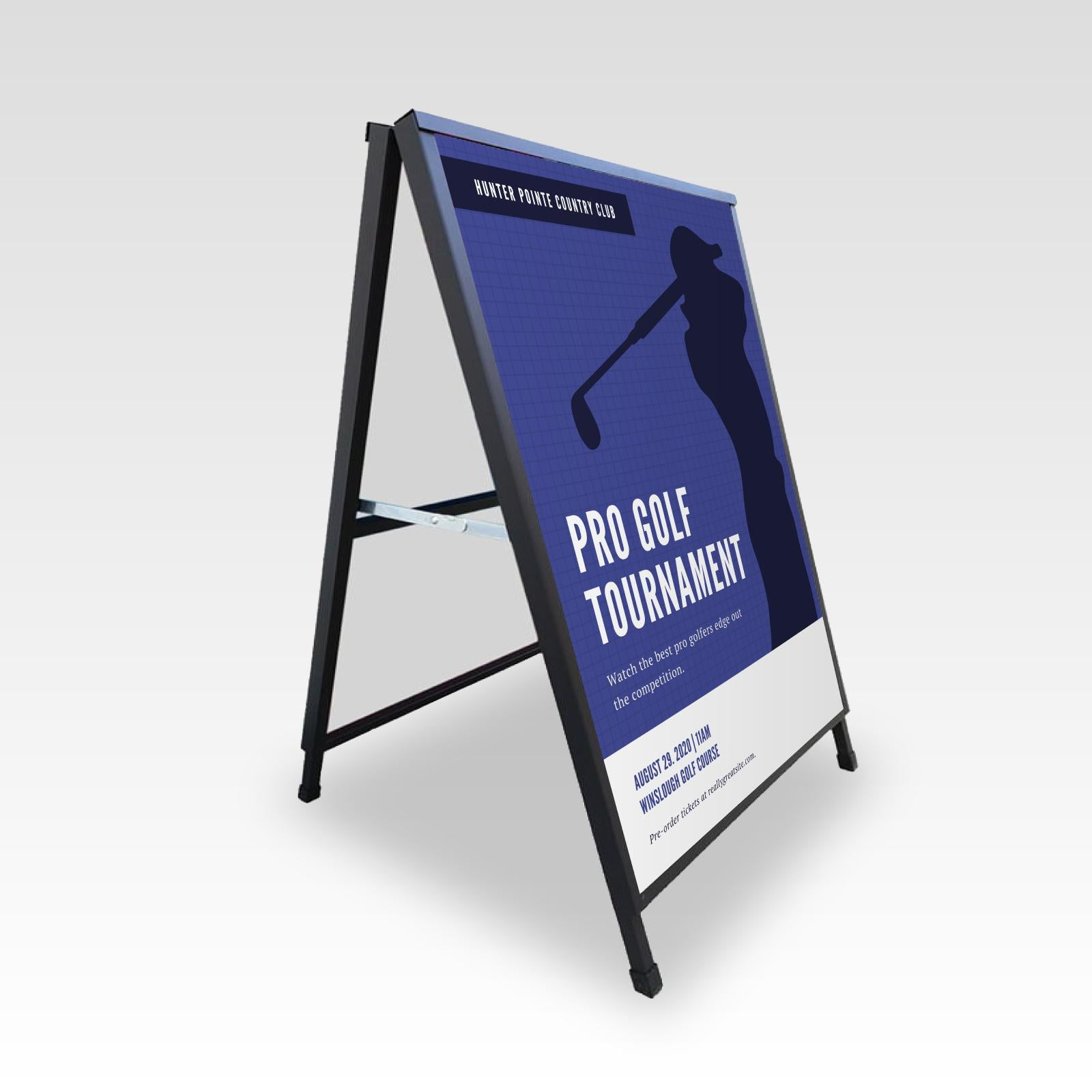 Directional Signage A-Frame