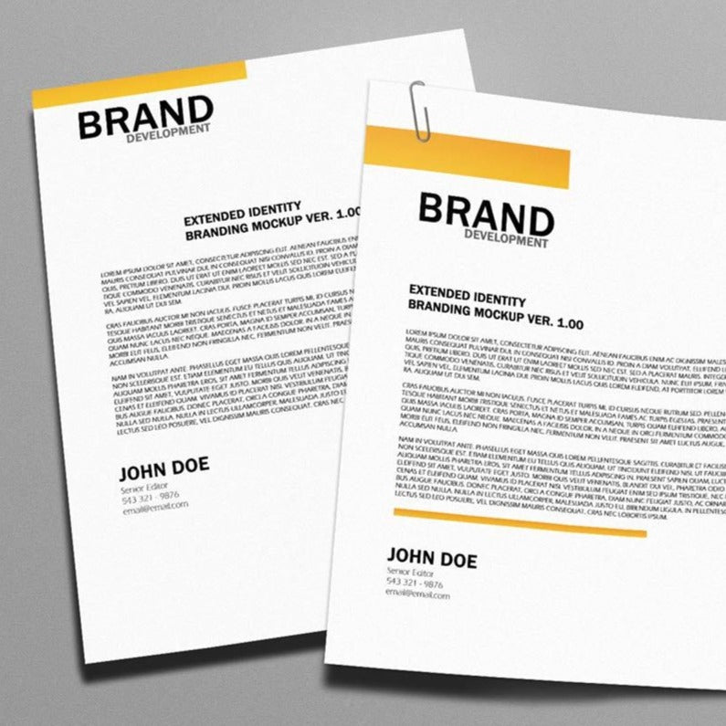 Letterheads-Stationary & Forms-PlusPrint
