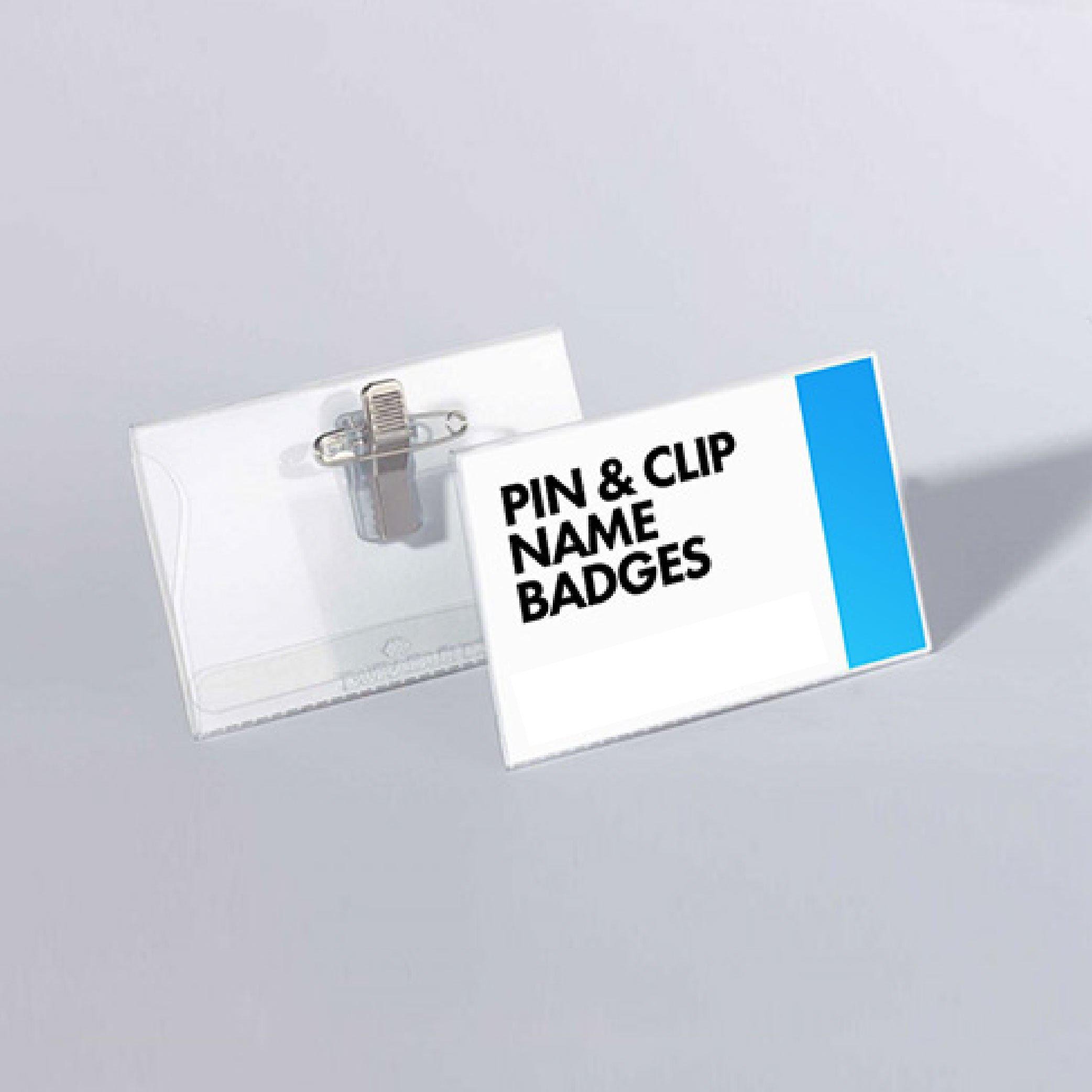 Name Badges-Events & Large Format-PlusPrint