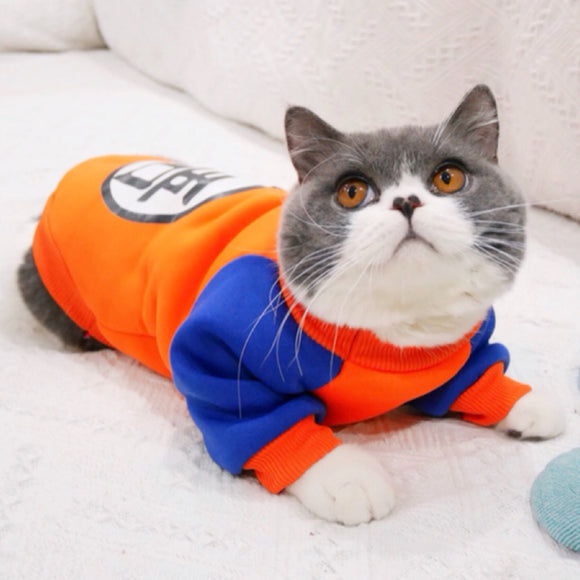 Dogbaby - Stylish Cat Cartoon Costume