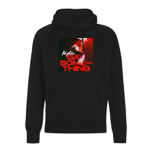 Say Something Hoodie (Black)
