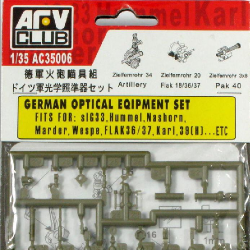 1/35 Plastic & Brass Accessories