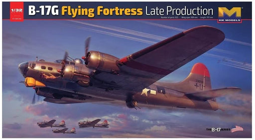 1/32 B-17G FLYING FORTRESS LATE VERSION by HONG KONG MODEL