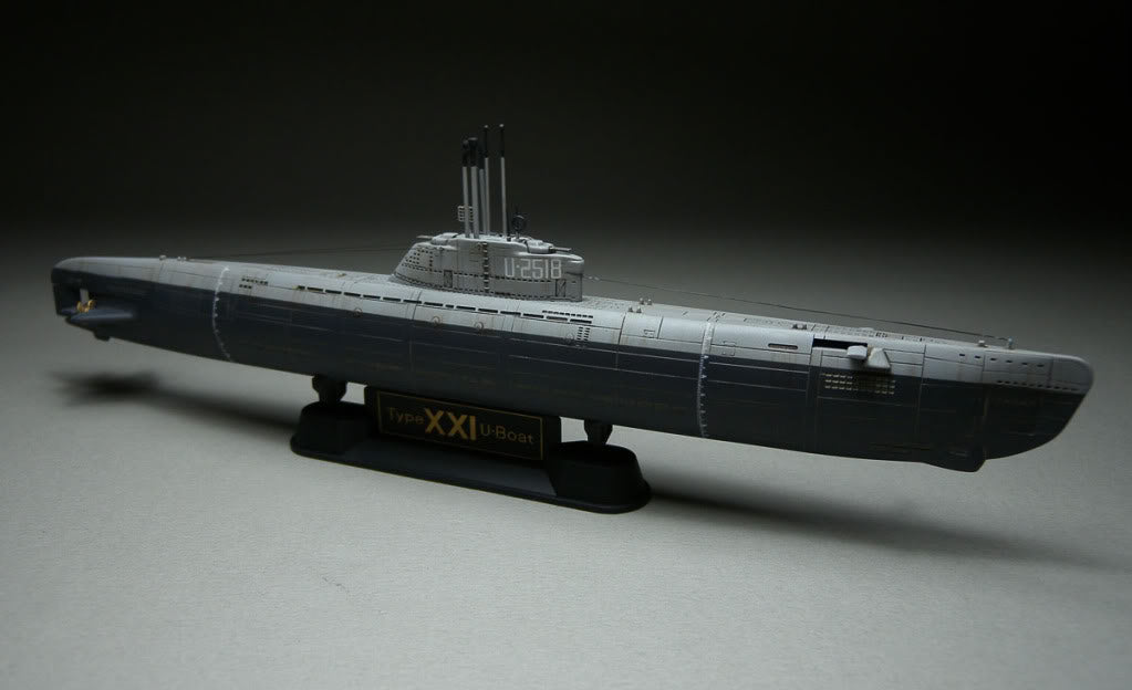 1/350 GERMAN TYPE XXI U-BOAT AFV CLUB SE73501