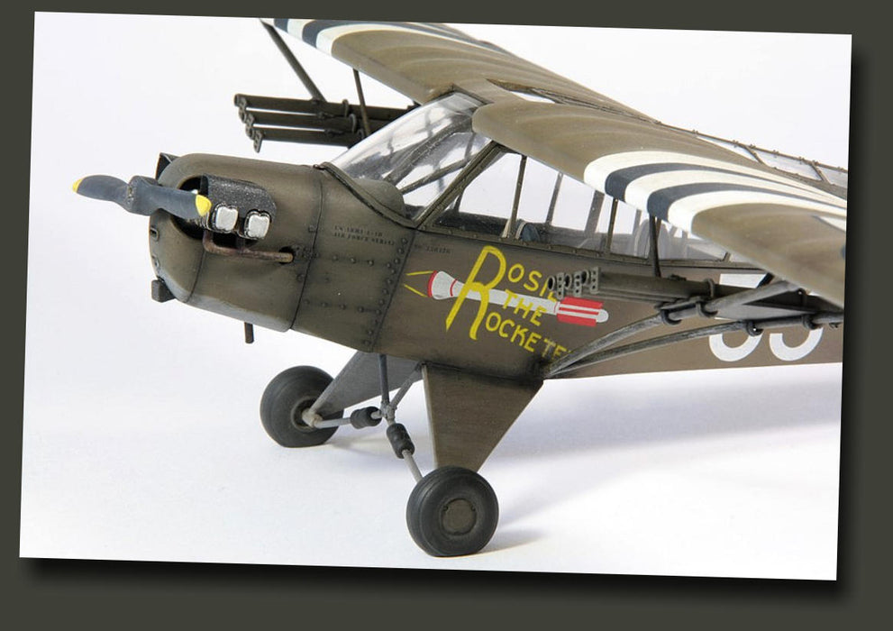 "1/35 PIPER CUB L4H ""ROSIE THE ROCKETEER"" BRONCO MODELS CB35018"