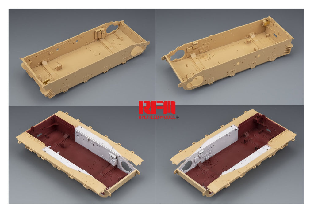 1/35 Sd.kfz.161/2 Panzer IV Ausf.J Sd.Kfz.161/2 (Last Production) with Full Interior by RyeField Models