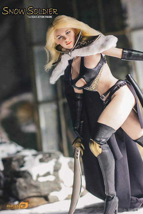 1/6 SNOW SOLDIER FEMALE ACTION FIGURE