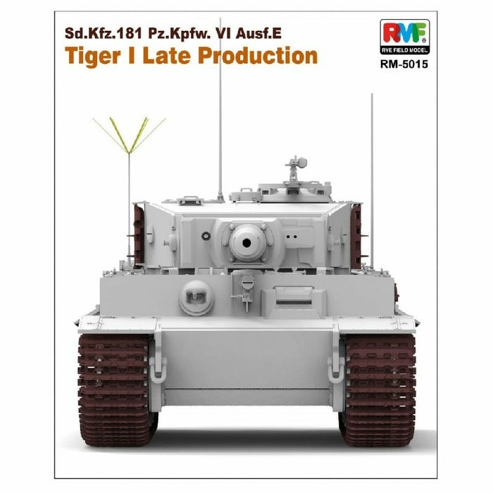 1/35 TIGER I LATE PRODUCTION RYEFIELD MODEL 5015