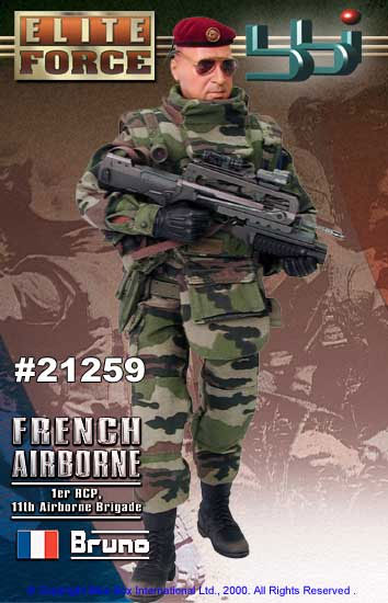 1/6 FRENCH PARATROOPER (JUNGLE OPS) - BRUNO