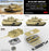 1/35 M1A2 TUSK I/TUSK II WITH FULL INTERIOR RYEFIELD MODEL 5026