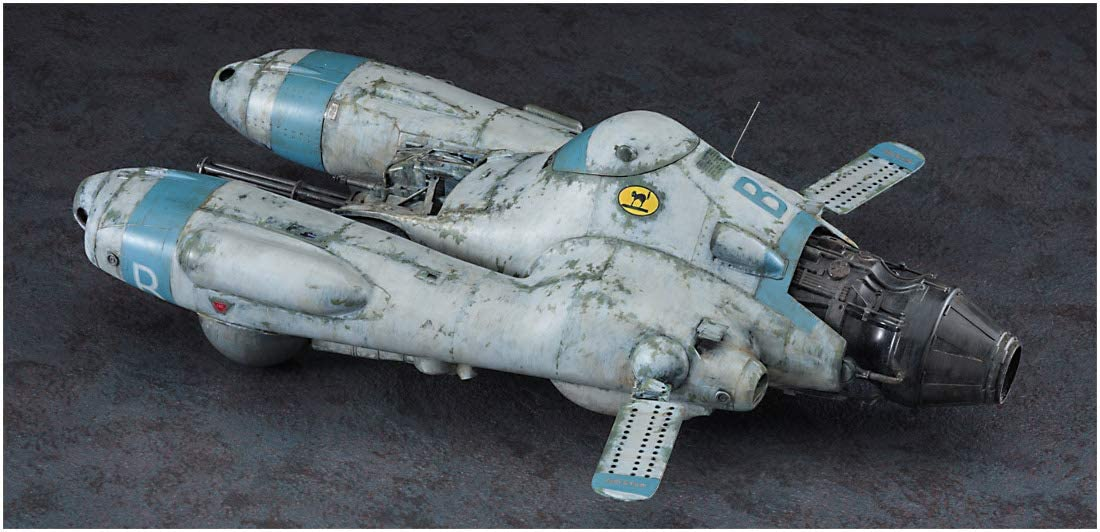 "1/20 MASCHINEN KRIEGER ANTIGRAVITY ARMORED RAIDER PKF.85 FALKE ""BOMBER CAT"" by HASEGAWA JAPAN"