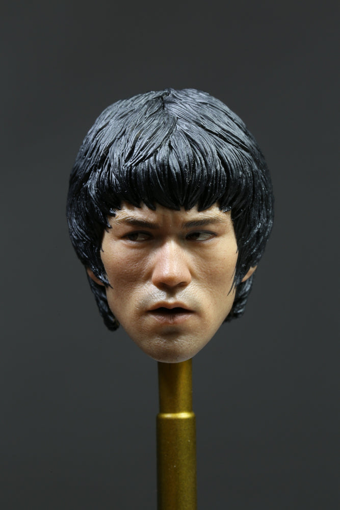 1/6 GAME ON DEATH 75TH ANNIVERSARY - BRUCE LEE HEAD SCULPT