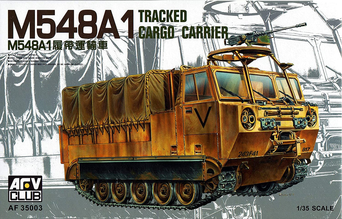 1/35 M548A1 TRACKED CARGO CARRIER AFV CLUB