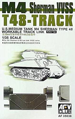 1/35 M4 T48 WORKABLE TRACK (FOR SHERMAN VVSS) AFV CLUB AF35038