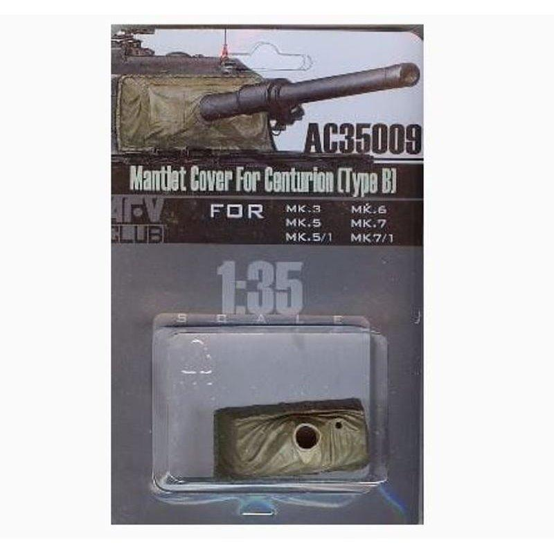 1/35 MANTLET COVER FOR CENTURION (TYPE A)